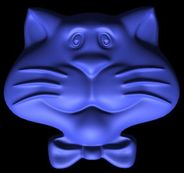 Кот. 0д манекенщица во stl формате