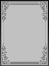 Бесплатная 0d образец декоративной рамки