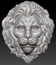 скачать 0д фасон головы льва