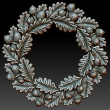 Download free 0d model of decorative frame